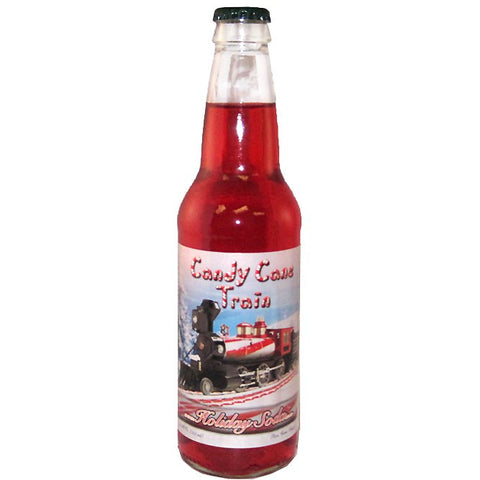 Candy Cane Train Soda - Nikki's Popcorn Company Dallas, TX