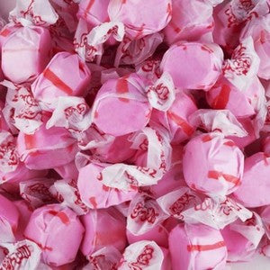Salt Water Taffy - Cherry - Nikki's Popcorn Company Dallas, TX