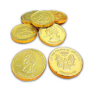 Chocolate Gold Coin Candy
