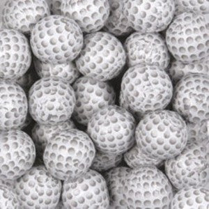 Chocolate Golf Balls - 1/2 lb bulk - Nikki