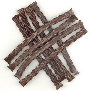 Chocolate Licorice Twists 1 lb - Nikki's Popcorn Company Dallas, TX
