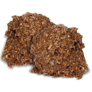 Milk Chocolate Coconut Haystacks - Nikki