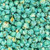 Light Blue Baby Blue Gourmet Coconut Flavored Popcorn