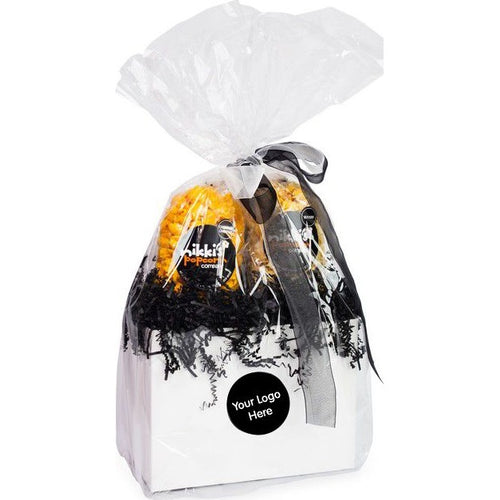 Custom Branded Popcorn 2 Pack Gift Basket