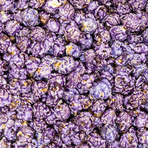 Purple Grape Flavored Candied Popcorn Dallas TX