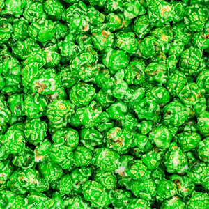 Green Colored Popcorn Green Apple Candied Dallas TX