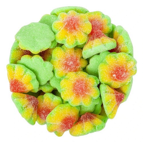Gummy Sour Flowers