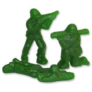 Gummy Army Men - Nikki's Popcorn Company Dallas, TX