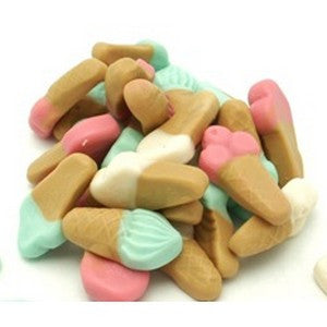 Gummy Mermaid Tails 1/2 lb bulk