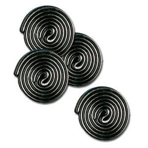 Haribo Black Licorice Wheels 1/2 lb - Nikki