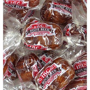 Root Beer Barrels 1/2 lb  Candy