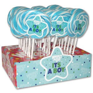 Rock Candy Sticks (6)-Blue Raspberry