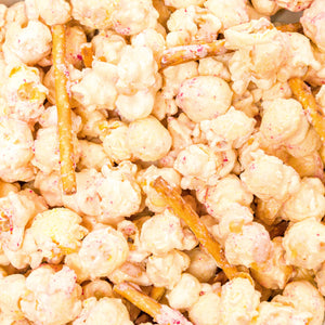 Kringle Crunch Peppermint Popcorn
