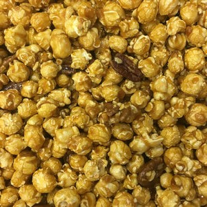 Caramel Popcorn with Almonds
