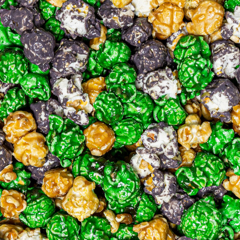 Minecraft mix Popcorn Gray Brown Green