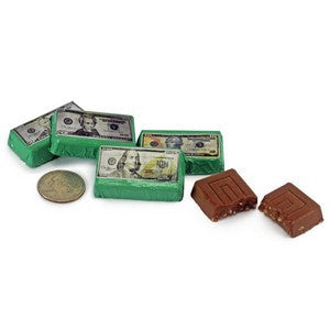 Money Chocolate Mini Bars
