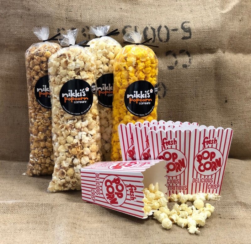 Movie Night Popcorn 4 Pack  - FREE SHIPPING
