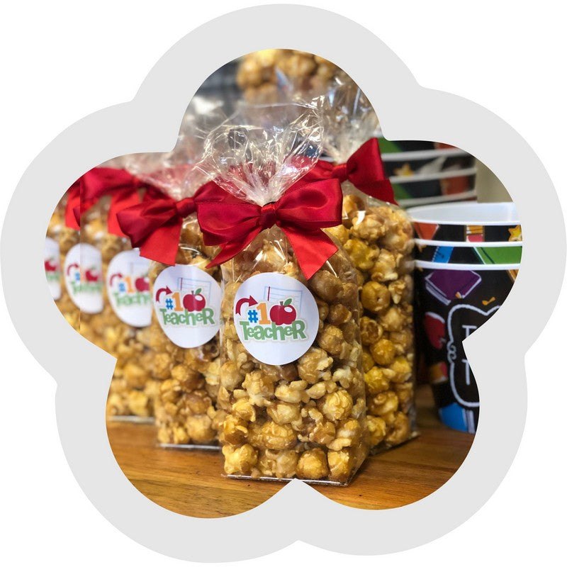 Teacher Popcorn Gift Bag Favor