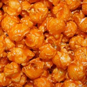 Orange Popcorn - Nikki's Popcorn Company Dallas, TX