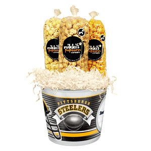 Steelers Popcorn Tin Pail