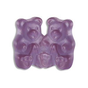 Gummi Bears Grape - Bulk 1/2 lb