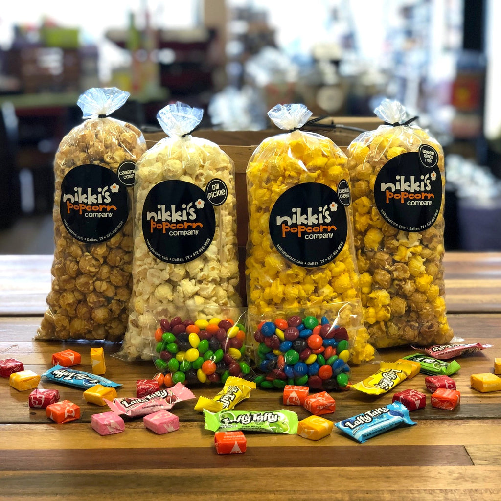 Snack Popcorn Care Package - FREE SHIPPING