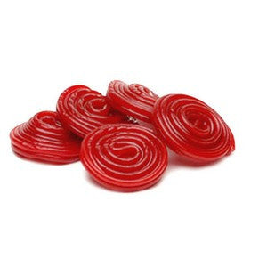 Red Licorice Wheels 1/2 lb
