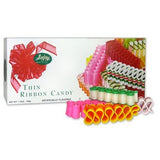 Thin Christmas Ribbon Candy Multicolored Nostalgic