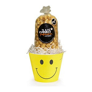 Smiley Popcorn Pail Small
