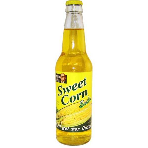 Sweet Corn Soda Glass Bottle