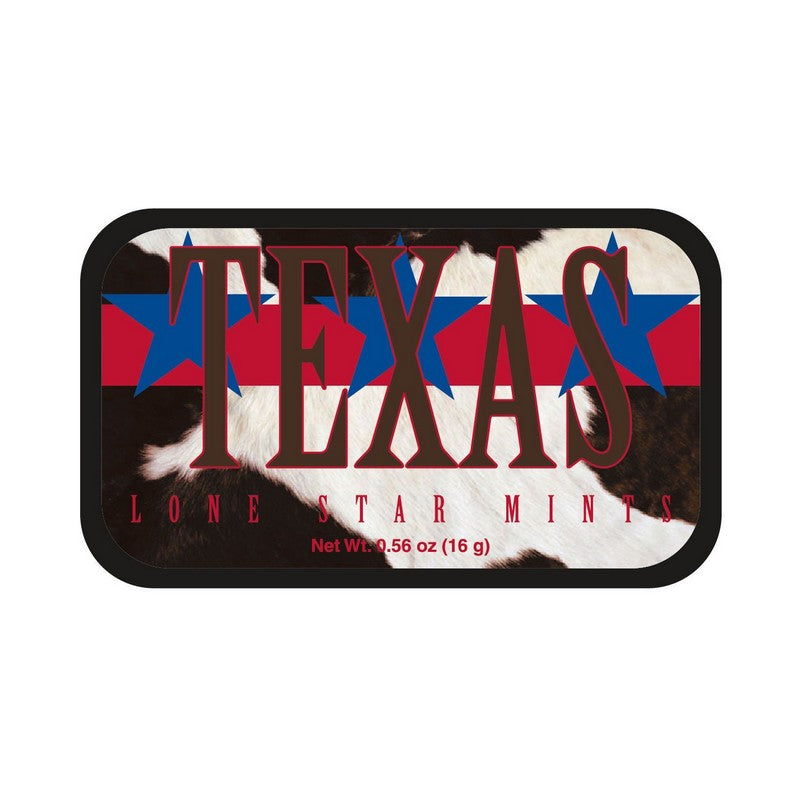 Texas Lone Star State Mints Tin