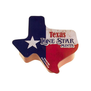 Texas Shaped Mint Tin