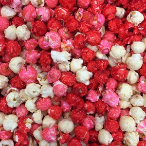 Valentine Mix Popcorn - Pink White & Red