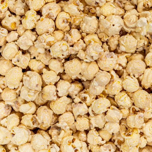 White Vanilla Flavored Popcorn Dallas TX