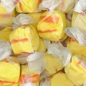 Salt Water Taffy - Banana - Nikki's Popcorn Company Dallas, TX