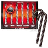 Coal Themed Candy Canes