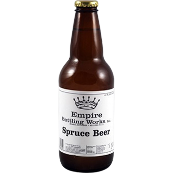 Empire Spruce Beer Glass Bottle