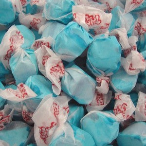 Salt Water Taffy - Blueberry - Nikki's Popcorn Company Dallas, TX