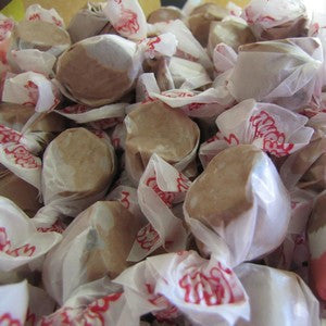 Salt Water Taffy - Chocolate - Nikki's Popcorn Company Dallas, TX
