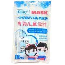 Load image into Gallery viewer, Non-medical Kids Child Protective Mask 10pcs