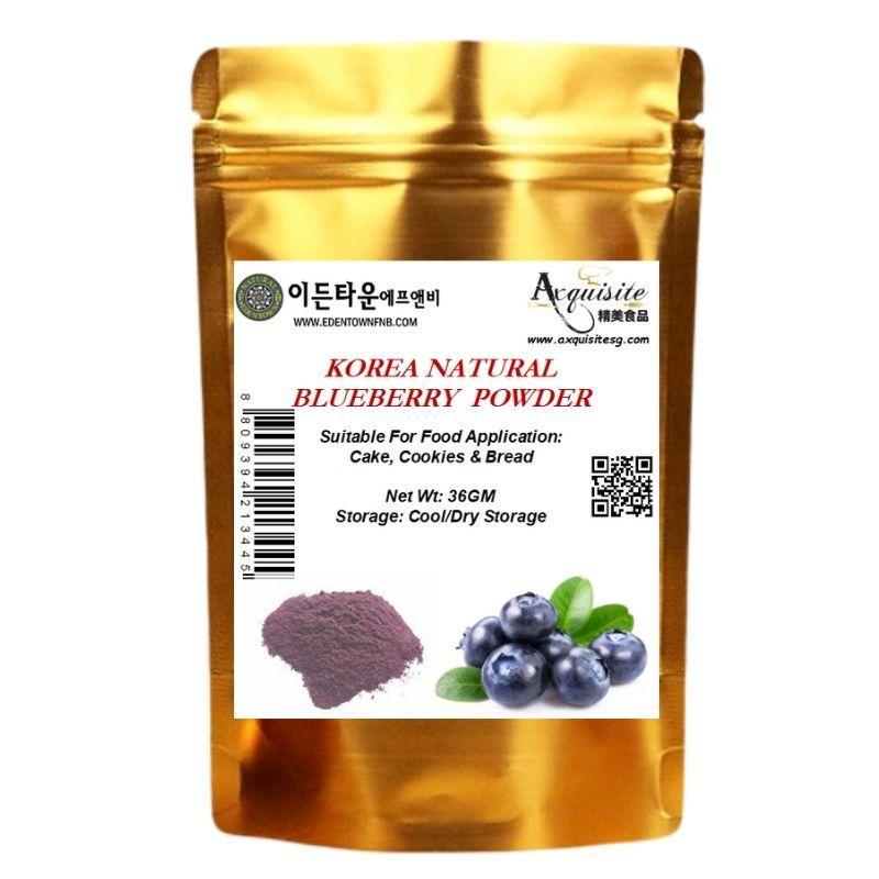 Edentown Korea Natural Blueberry Powder 36g