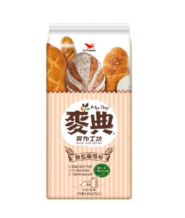 Uni-President My Day Bread Flour 1kg