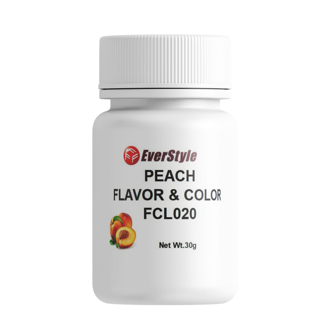Everstyle Peach Flavor and Color 30g (FCL020)