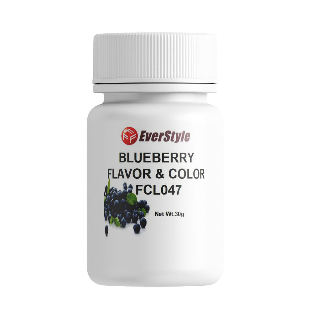 Everstyle Blueberry Flavor and Color 30g (FCL047)