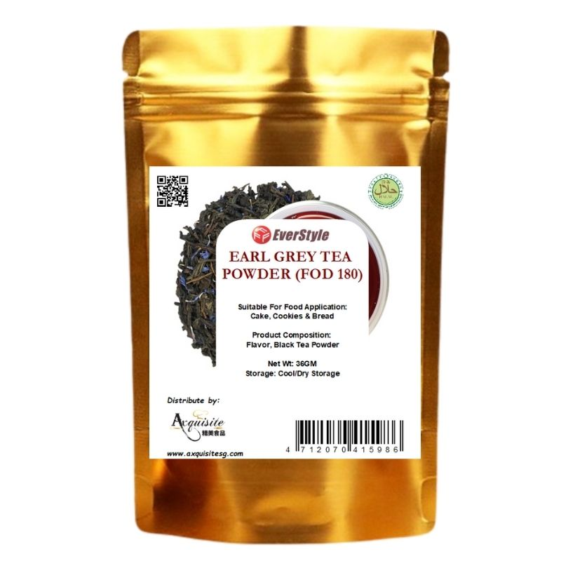 Everstyle Earl Grey Tea Flavor Powder 36g (FOD180)
