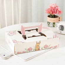 Load image into Gallery viewer, Mooncake Gift Box Packaging Jade Rabbit Ear Carrier 6 boxes
