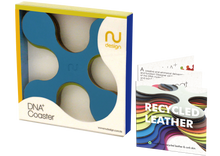 Load image into Gallery viewer, DNA+ DESIGN SET OF COASTERS (SET OF 4PCS, REVERSIBLE USE)