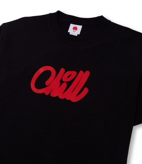 FOREVER CHILL LOGO 06 BLACK
