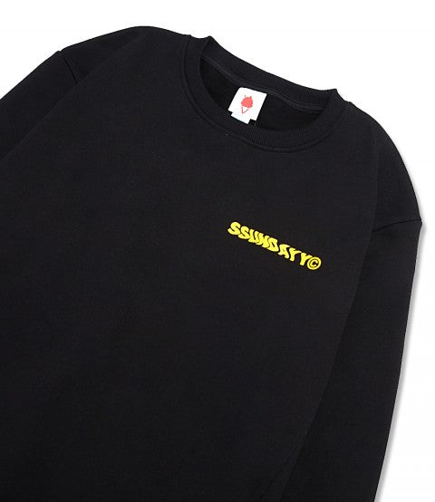 COURT DISCLO SWEATSHIRT  BLACK