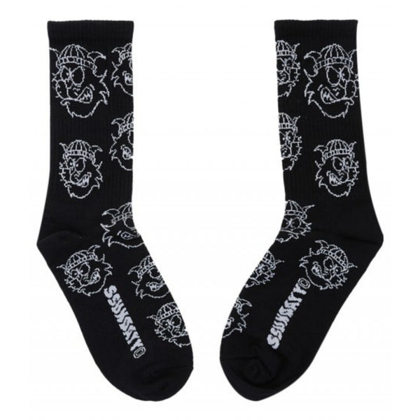 CAT SOCK BLACK